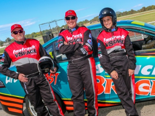 Experience V8 Racing / Driving at its best, with the best, you and a professional race car driver behind the wheel of a V8 Race Car, You Drive for 8 laps.